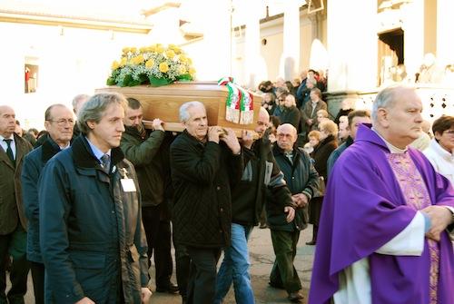 I funerali del sindaco Gianni Piotti