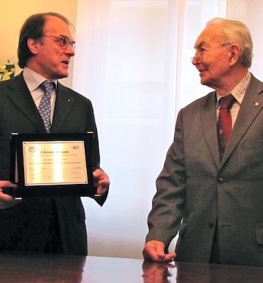 Giuseppe Redaelli e Renato Morandi