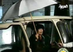 Gheddafi nel video