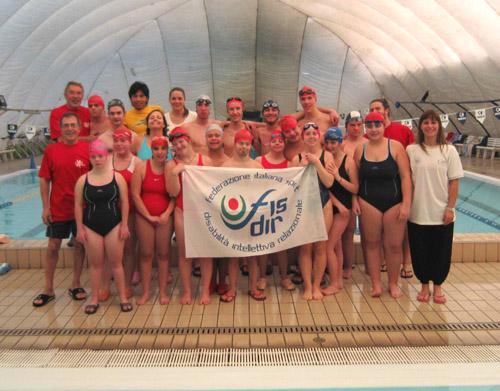 vharese nuoto disabili febbraio 2011