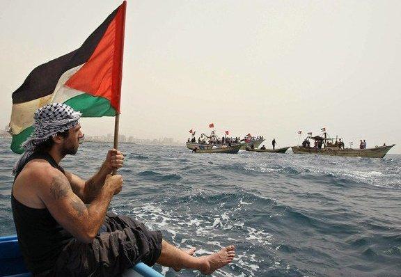 Vittorio Arrigoni, foto da Facebook