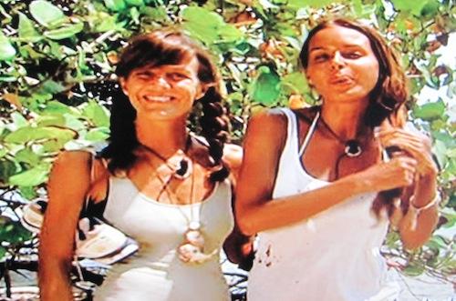 Francesca Fogar e Nina Moric