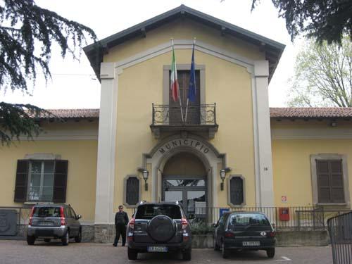 La sede del Comune di Barasso
