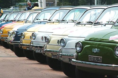 raduno fiat 500 auto