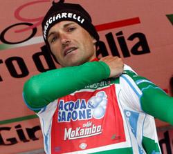 stefano garzelli maglia verde apertura ciclismo