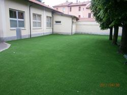 Il nuovo giardino della scuola Morandi