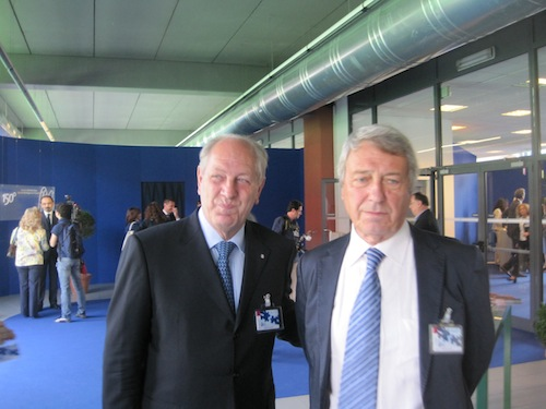 Antonio Tomassini (a sinistra)