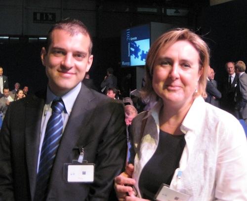 Roberta Tajè (a destra)