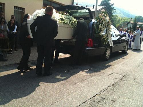 mesenzana funerali alessandra camboni