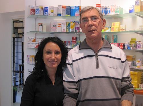 Vera e Gabriele Chiari, i farmacisti di Saltrio