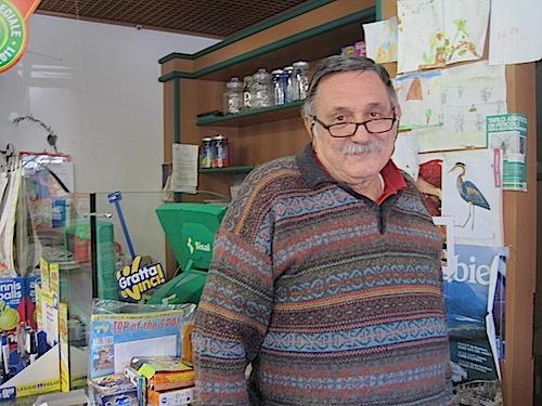 Tullio Schimizzi, il tabaccaio di saltrio