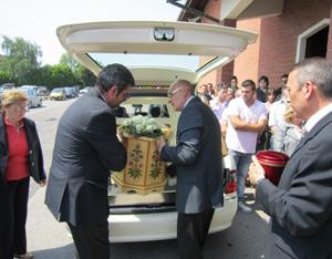 francesca lunardi funerale