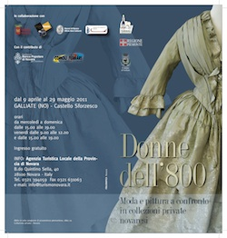 mostra donne ottocento galliate novarese