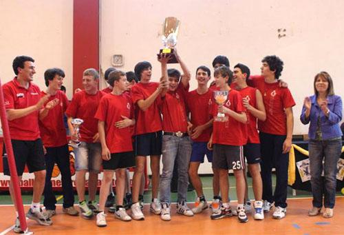 trofei giovanili pallavolo gallarate 2011