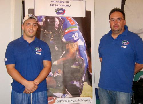 presentazione torneo 4 helmets football americano 2011