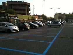I parcheggi blu a Gavirate