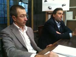Paolo Costa con Fabio Tedeschi