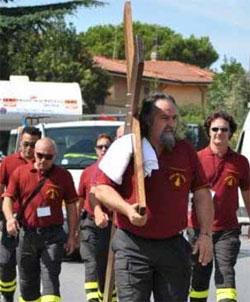croce vigili del fuoco