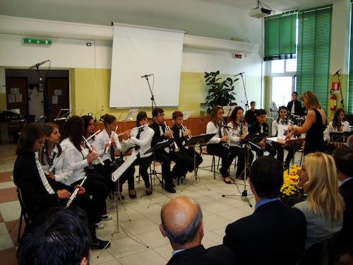 Un'immagine del concerto di inaugurazione dell'8 ottobre