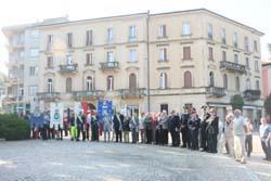La commemorazione dei caduti della Gera a Luino