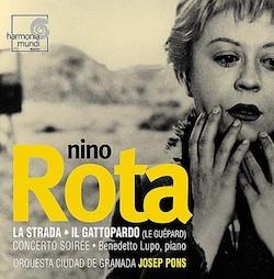 Nino Rota protagonista musicale di La Stada, con Giulietta Masina