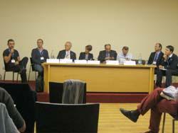 I relatori del convegno di Gavirate sul diabete 1