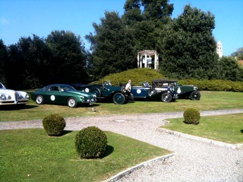 Il Trofeo Milano ospite a Villa Panza - foto di Mauro Abbati
