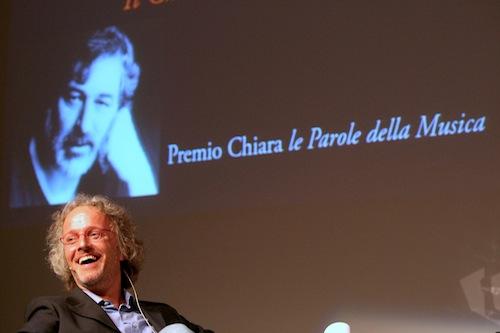 Vittorio Colombo al premio Chiara