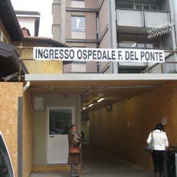 L'ingresso del Del Ponte
