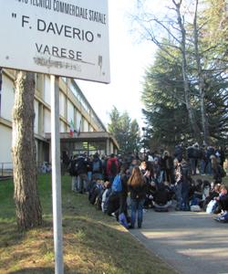 L'ingresso del Daverio