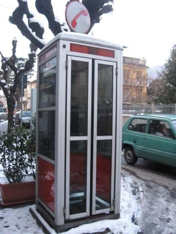 tu, tu, tu...la cabina telefonica compie sessant'anni! - varesenews - Cabina Telefonica