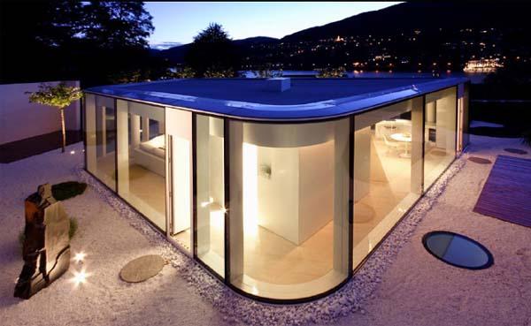 la casa di vetrate in vendita a Brusino Arsizio