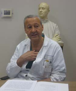 Il dottor Paolo Beretta
