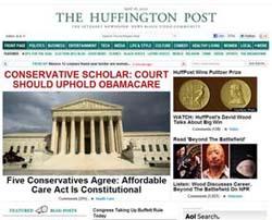 La testata Huffinton Post