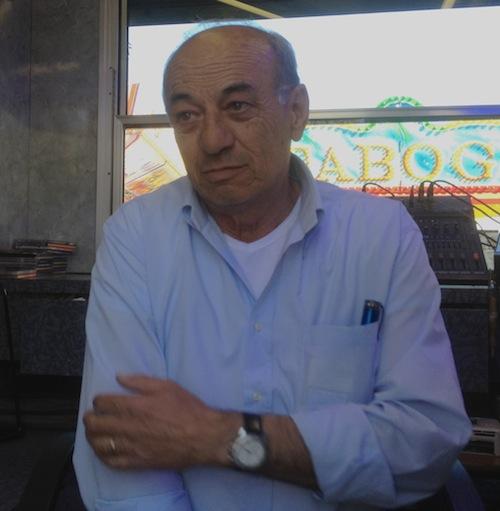 Alvaro, gestore delle minipiste al Luna Park