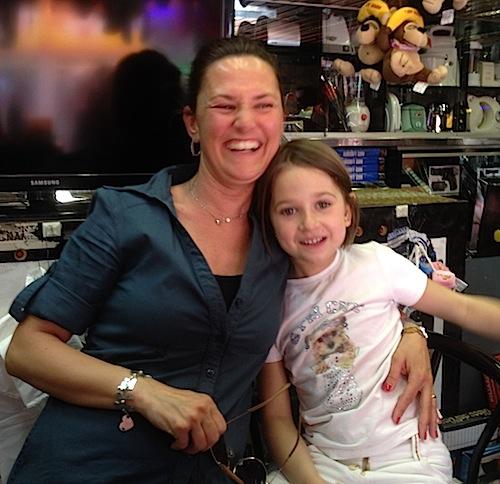 Key Claudi e sua figlia