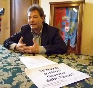 Fabio Rizzi 15 minuti contro le tasse