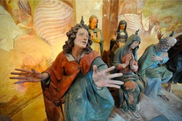 UNa delle cappelle del Sacro Monte