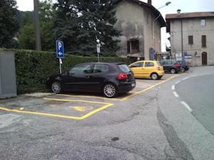 parcheggio foto castelveccana