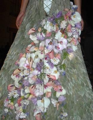 foto fiori vestito varese