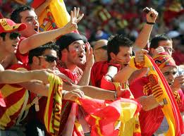 I tifosi spagnoli