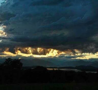 IL nuvolone del 21 luglio