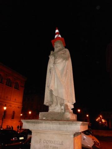Corneille festeggia con i parigini