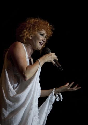 Fiorella Mannoia in concerto a Milano