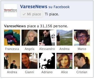 facebook giornali