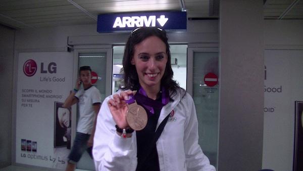 Romina Laurito torna a casa