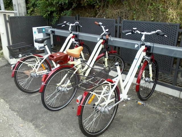 La bici senza sellino