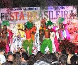 Festa brasileira a Cuasso