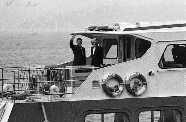 Lady Diana e carlo fotografati da Franco Aresi