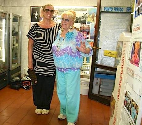Nonna rock e Iva Zanicchi